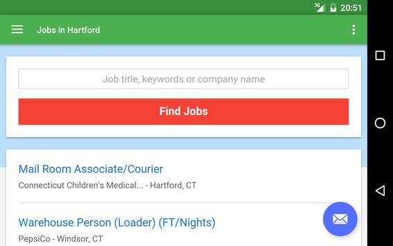 Jobs in Hartford, CT, USA apk screenshot