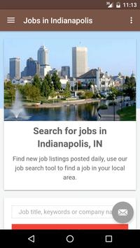 Jobs in Indianapolis, IN, USA poster