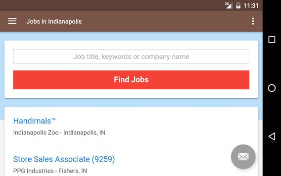 Jobs in Indianapolis, IN, USA apk screenshot