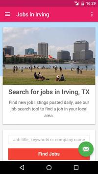 Jobs in Irving, TX, USA poster