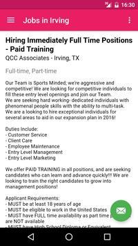 Jobs in Irving, TX, USA screenshot 3