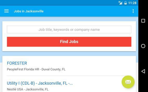 Jobs in Jacksonville, FL, USA apk screenshot