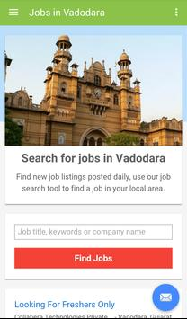 Jobs in Vadodara, India poster