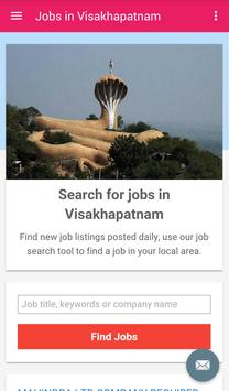 Jobs in Visakhapatnam, India poster