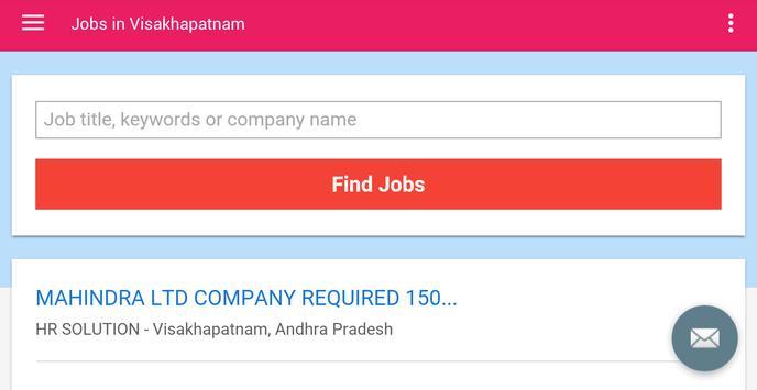 Jobs in Visakhapatnam, India apk screenshot