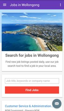 Jobs in Wollongong, Australia poster