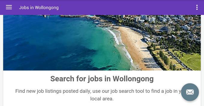 Jobs in Wollongong, Australia apk screenshot