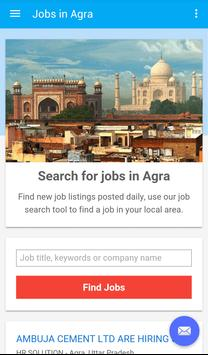 Jobs in Agra, India poster