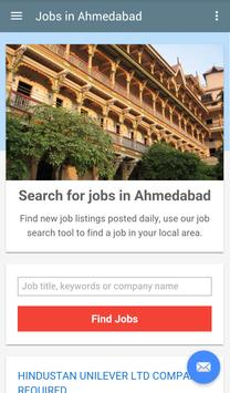 Jobs in Ahmedabad, India poster