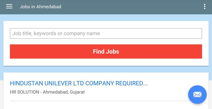 Jobs in Ahmedabad, India apk screenshot