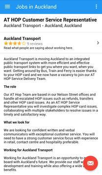 Jobs in Auckland, New Zealand screenshot 3
