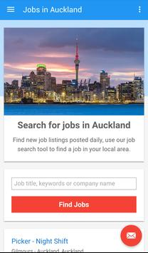 Jobs in Auckland, New Zealand poster