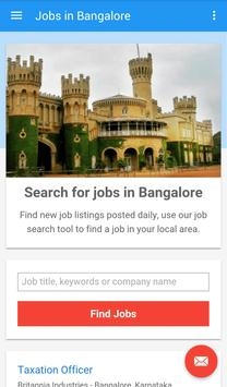 Jobs in Bangalore, India poster