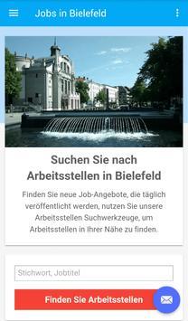 Jobs in Bielefeld, Deutschland poster
