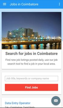 Jobs in Coimbatore, India poster