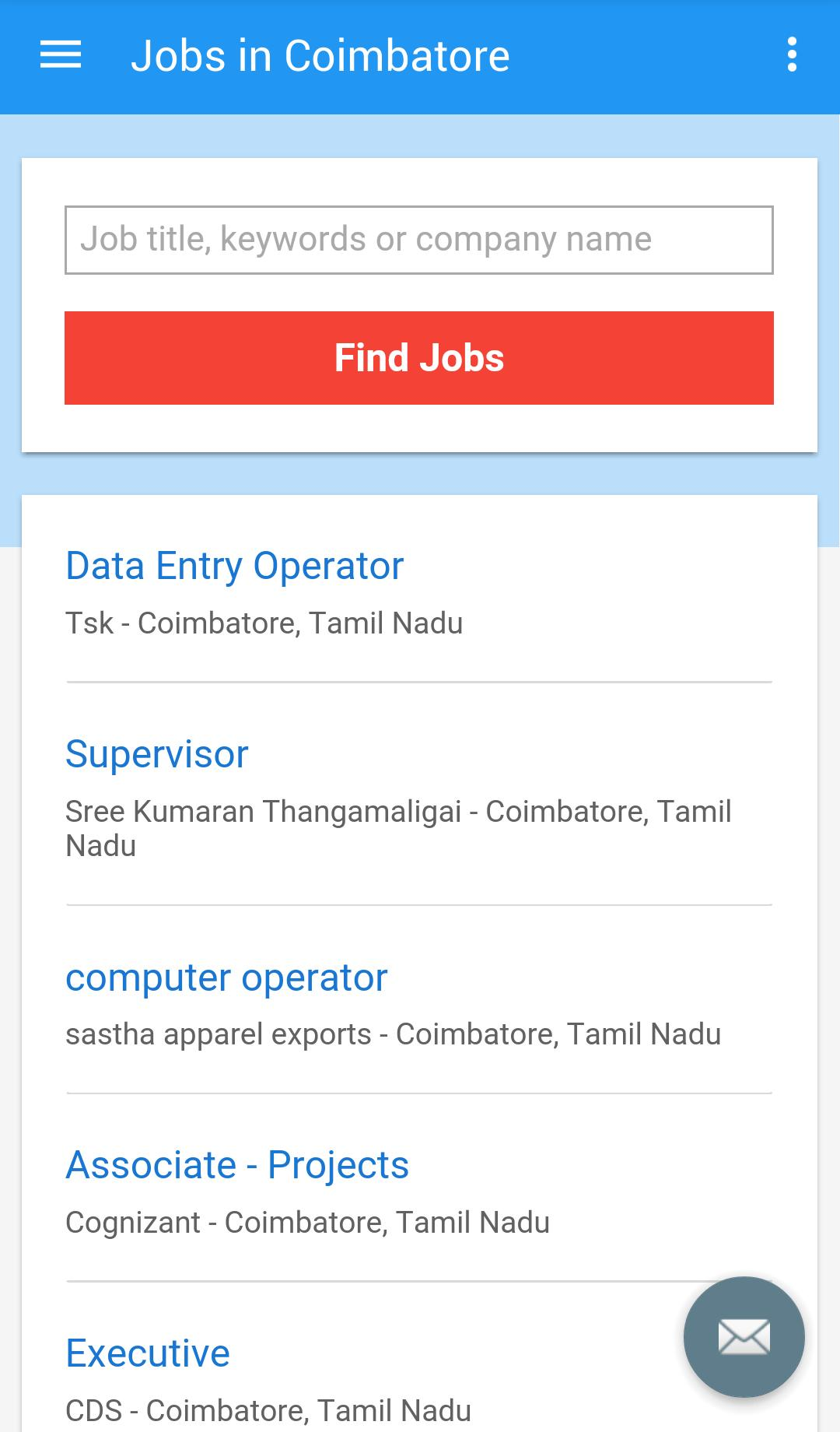 Jobs in Coimbatore, India for Android - APK Download
