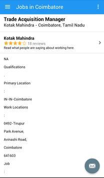 Jobs in Coimbatore, India screenshot 3
