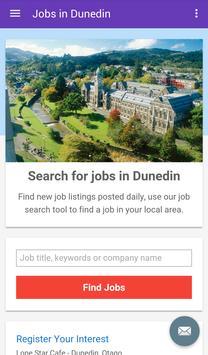 Jobs in Dunedin, New Zealand poster