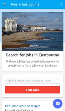 Jobs in Eastbourne, UK poster