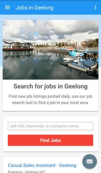 Jobs in Geelong, Australia poster