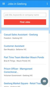 Jobs in Geelong, Australia apk screenshot