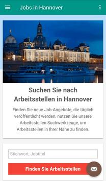 Jobs in Hannover, Deutschland poster