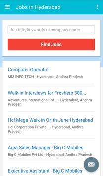 Jobs in Hyderabad, India apk screenshot