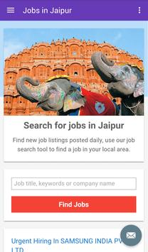 Jobs in Jaipur, India poster