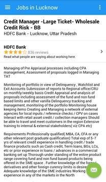 Jobs in Lucknow, India screenshot 3