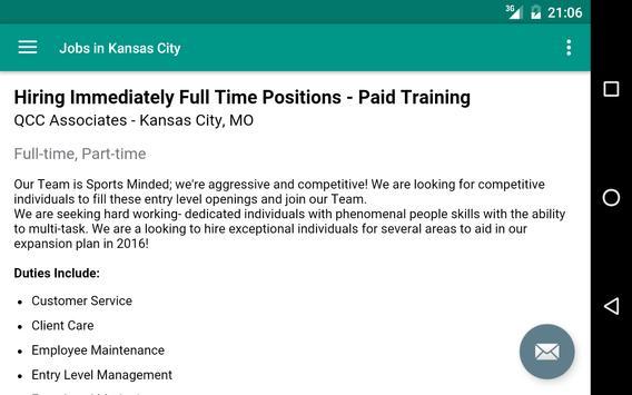 Jobs in Kansas City, MO, USA apk screenshot