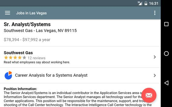 Jobs in Las Vegas, NV, USA apk screenshot