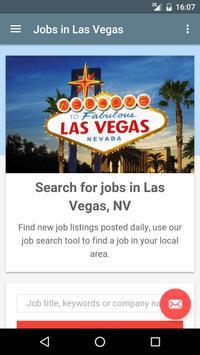 Jobs in Las Vegas, NV, USA poster