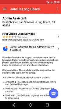 Jobs in Long Beach, CA, USA apk screenshot