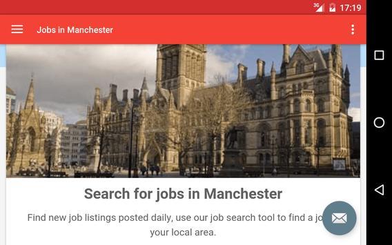 Jobs in Manchester, UK apk screenshot