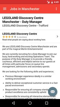 Jobs in Manchester, UK screenshot 3
