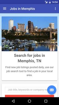 Jobs in Memphis, TN, USA poster