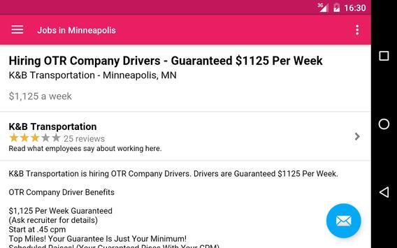 Jobs in Minneapolis, MN, USA apk screenshot