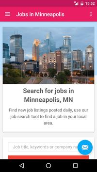 Jobs in Minneapolis, MN, USA poster