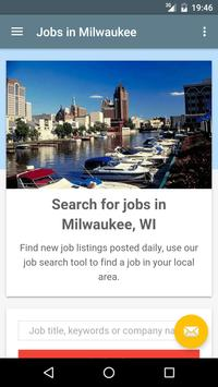Jobs in Milwaukee, WI, USA poster