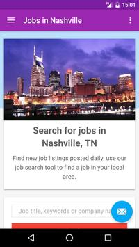 Jobs in Nashville, TN, USA poster