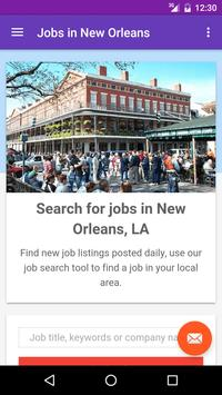 Jobs in New Orleans, LA, USA poster