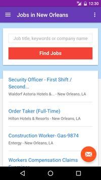 Jobs in New Orleans, LA, USA apk screenshot