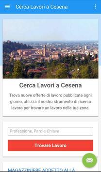 Offerte di Lavoro Cesena poster