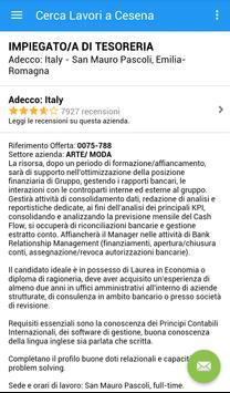 Offerte di Lavoro Cesena screenshot 3