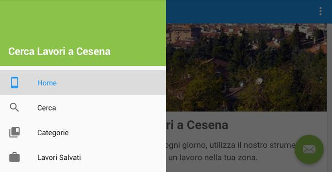 Offerte di Lavoro Cesena apk screenshot