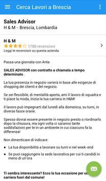Offerte di Lavoro Brescia screenshot 3