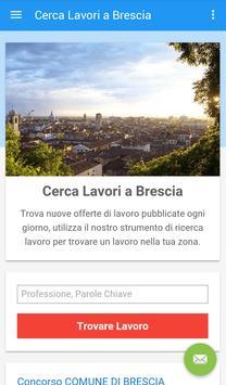 Offerte di Lavoro Brescia poster