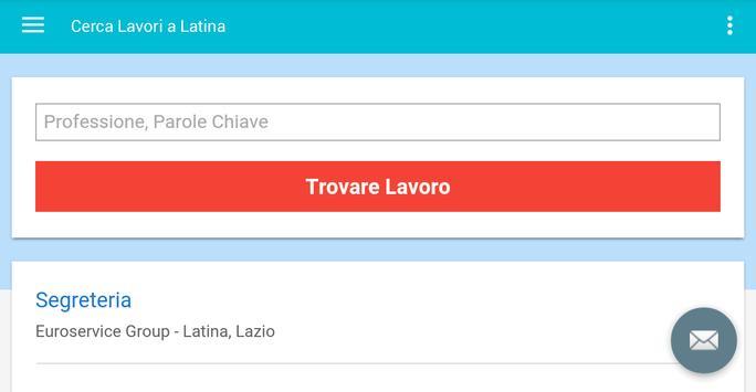 Offerte di Lavoro Latina screenshot 6