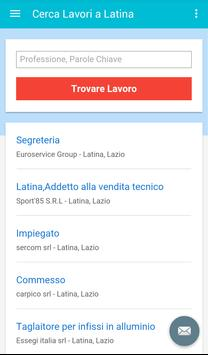 Offerte di Lavoro Latina screenshot 2