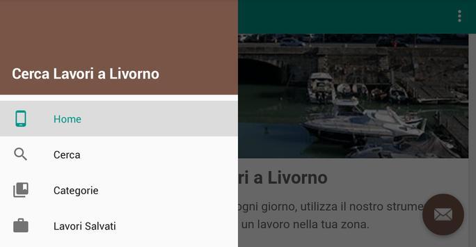 Offerte di Lavoro Livorno apk screenshot